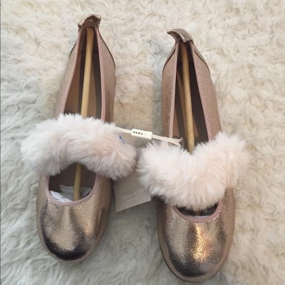Zara Shoes | Glitter For Girls | Poshmark